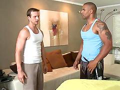 horny massage guy ramming hot buddy