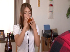 Good Japanese housewives know how to cook & suck a cock like a pro