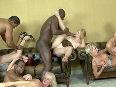 Incredible interracial penetration action with hottest chicks