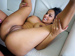 can claudia rossi in an anal threesome on the beach think, that you are