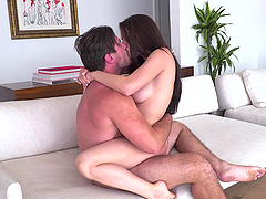 Hard and passionate sex for gorgeous Lana Rhoades