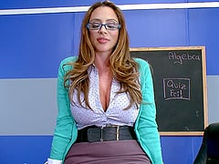 Nerdy beauty Ariella knows how to properly ride the schlong