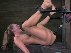 Elaborate vaginal punishment for the gorgeous Roxy Rox