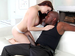 Blazing brunette pornstar screaming in ecstasy as she gets hammered doggy style