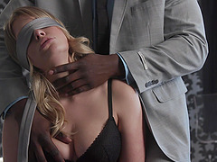 Long black pecker is enough to please hot girl Giselle Palmer