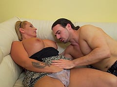 Orsina finally lets a neighbor fuck her in various poses