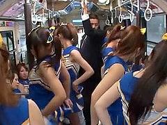 Think, brutal all girl cheerleader gangbang something is