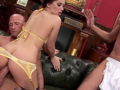 Wife Karia Kare Plowed in Front of Hubby