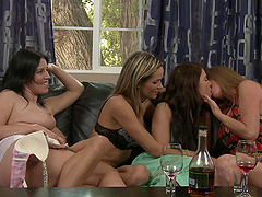 lesbian sex adventure is sometning special for horny Darla Crane