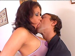 Tory Lane Has Got A Guy With Her And He's Laying His Lad Into Her