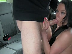Mature professional escort Raven Wolk gets shagged by a taxi driver