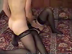 Lesbian Milf Sex With Girl Cuckold Hubby Spying