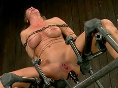 Crazy BDSM action with sexy Ariel X getting humiliated
