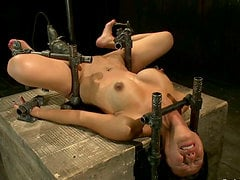 Tia Ling the BDSM loving Asian girl gets her ass drilled