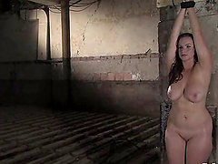 Bella Rossi gets tortured by two men and enjoys it