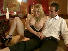 Two smoking hot and delightful sirens Aiden and Bella are being painsulted